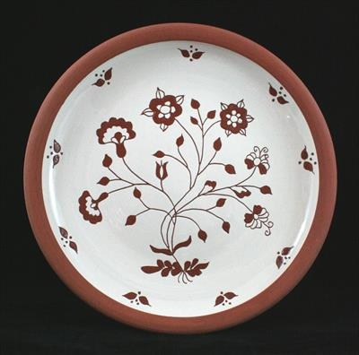 Large flower plate