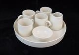 Coffee set for 4 by Simon Taylor, Ceramics, Porcelain