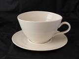 Large coffee cup and saucer by Simon Taylor, Ceramics, Porcelain